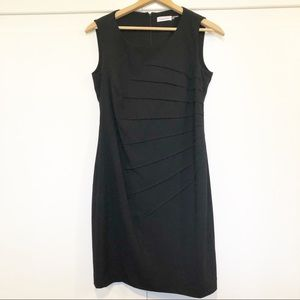 Calvin Klein Womens Size 12 Sheath Dress Sleeveles